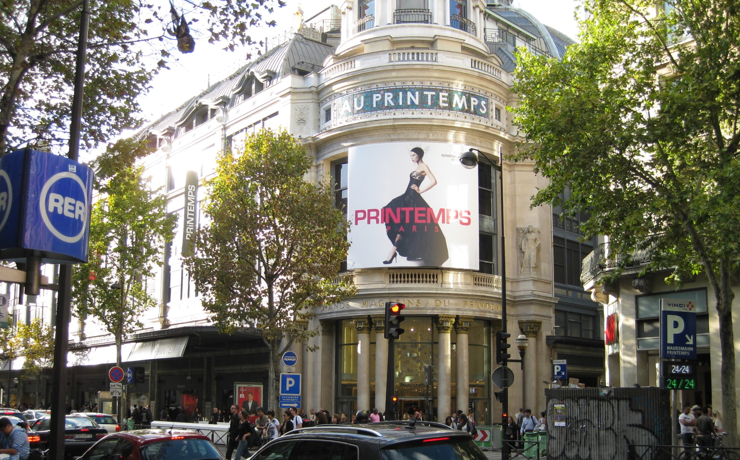 Shoppingtempel in Paris